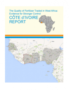 West Africa Fertilizer Report Cote d'Ivoire 2013