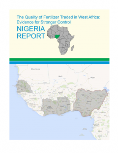 West Africa Fertilizer Report Nigeria 2013