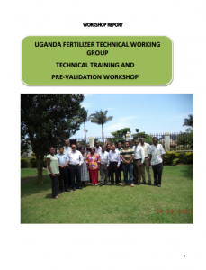 2014 CountrySTAT FTWG Uganda workshop minutes 23rd-24th September 2014