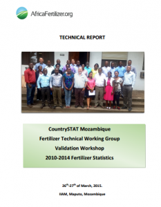2015 AFO CountrySTAT FTWG Mozambique - technical report (March 2015)